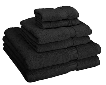 best black bath towels