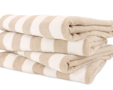 best striped bath towels
