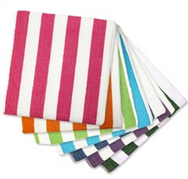 Striped Childrens Beach Towels