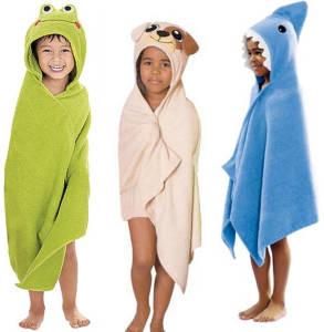 hooded beach towels
