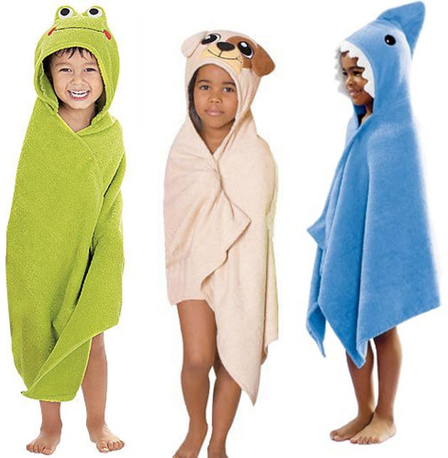 Kids Hooded Beach Towels Hooded Beach Towels Kids E Nongzico